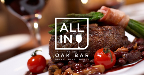 All In at the Oak Bar